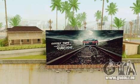 Neue hochwertige Werbung auf Plakaten für GTA San Andreas zweiten Screenshot