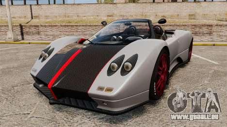 Pagani Zonda C12 S Roadster 2001 PJ5 pour GTA 4