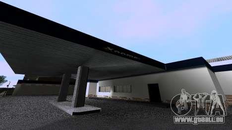 Nouvelles De Garage pour GTA San Andreas troisième écran