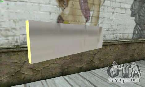 Tastatur Waffe pour GTA San Andreas deuxième écran