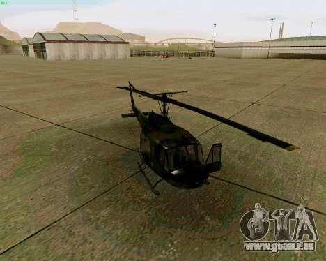 UH-1D Huey für GTA San Andreas