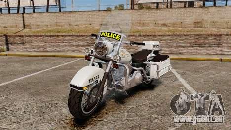 GTA V Western Motorcycle Police Bike für GTA 4