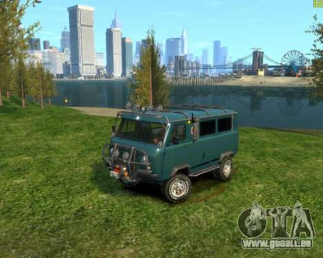 UAZ-3962 OFF-ROAD für GTA 4