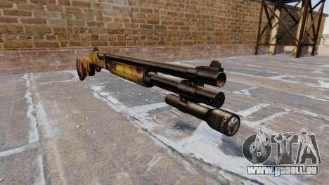 Riot-Flinte Remington 870 Fallen Camos für GTA 4