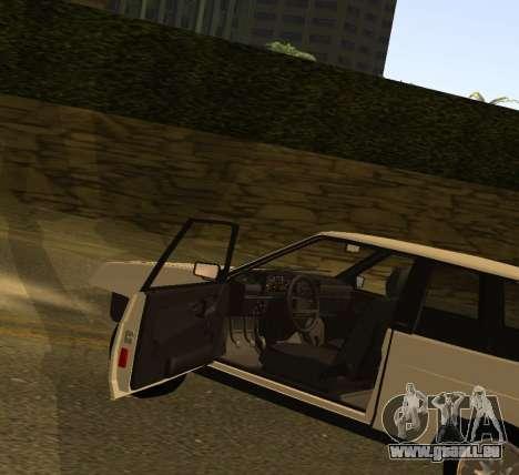 ВАЗ 2108 GVR Version 1.2 pour GTA San Andreas vue de droite