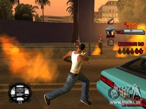 C-HUD Admins Team für GTA San Andreas zehnten Screenshot