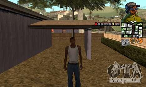 C-HUD Rider pour GTA San Andreas deuxième écran