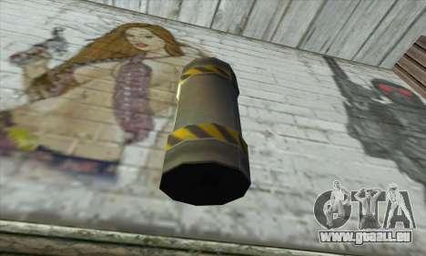 Grenat d'Être Nukem pour GTA San Andreas deuxième écran