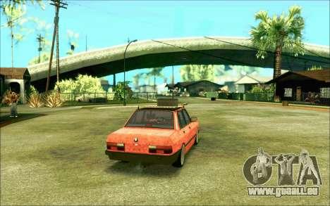 BMW M5 E28 RatStyle pour GTA San Andreas vue de droite