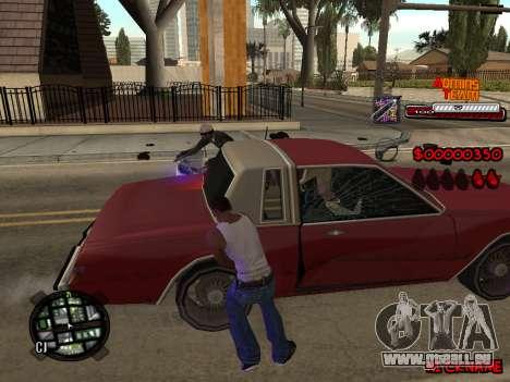C-HUD Admins Team für GTA San Andreas fünften Screenshot
