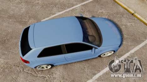 Audi S3 EmreAKIN Edition pour GTA 4 est un droit