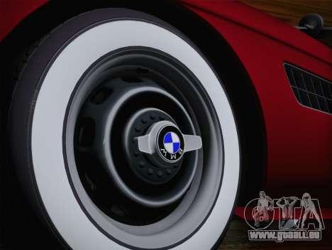 BMW 507 1959 Stock pour GTA San Andreas sur la vue arrière gauche
