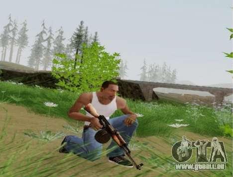 Kalaschnikow Light Machine Gun für GTA San Andreas her Screenshot
