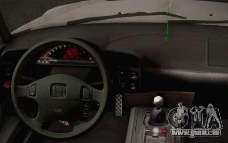 Honda S2000 Edit pour GTA San Andreas vue de droite