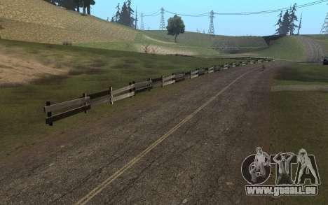 RoSA Project v1.4 Countryside SF pour GTA San Andreas septième écran