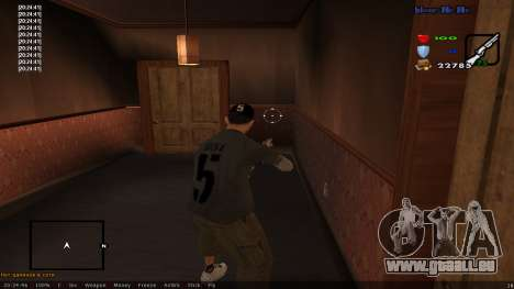 CLEO Skill for 0.3z new version für GTA San Andreas dritten Screenshot