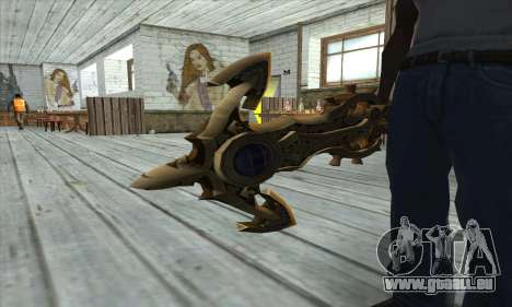 Dragon Nest Warrior Marine Sword für GTA San Andreas dritten Screenshot