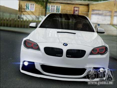 BMW 550 F10 VOSSEN pour GTA San Andreas laissé vue