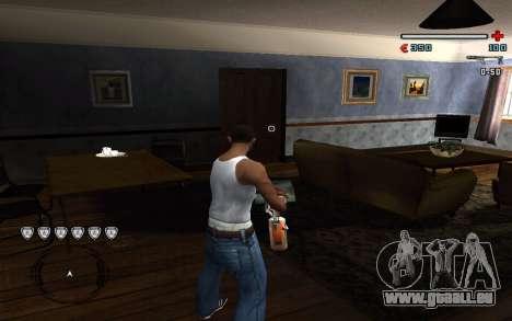 C-HUD by Pro für GTA San Andreas zweiten Screenshot