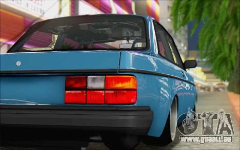 Volvo 242 Stance 1983 pour GTA San Andreas sur la vue arrière gauche