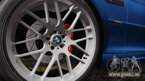 BMW M3 E46 GTR 2005 pour GTA San Andreas vue arrière