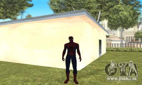 Le nouveau spider-man pour GTA San Andreas deuxième écran