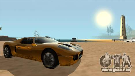 Bullet Restyle für GTA San Andreas rechten Ansicht