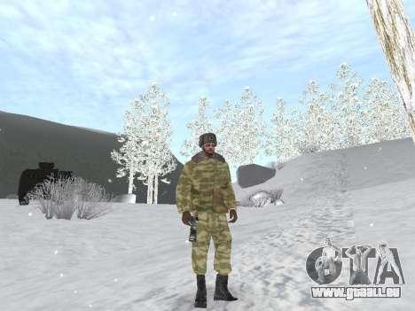 Pak service dans l'armée russe pour GTA San Andreas cinquième écran