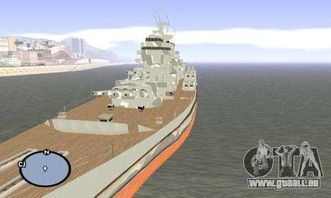 HMS Prince of Wales für GTA San Andreas