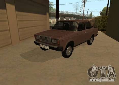 VAZ 2107 Frühen version für GTA San Andreas