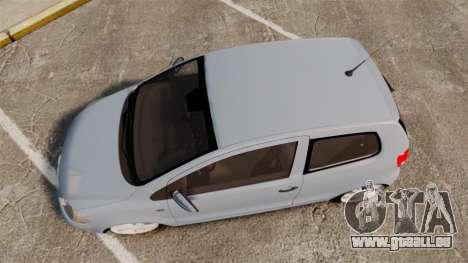 Volkswagen Fox für GTA 4 rechte Ansicht