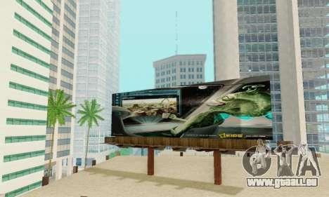 Neue hochwertige Werbung auf Plakaten für GTA San Andreas zehnten Screenshot