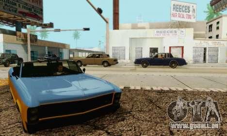 Gta 5 Boucanier mis à jour pour GTA San Andreas vue de côté
