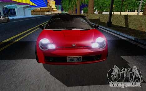 GTA 5 Weeny Issi V1.0 pour GTA San Andreas laissé vue
