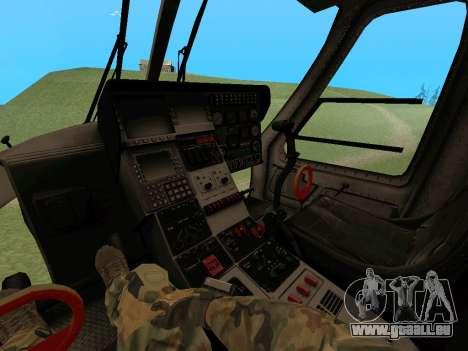 KA-60 pour GTA San Andreas laissé vue