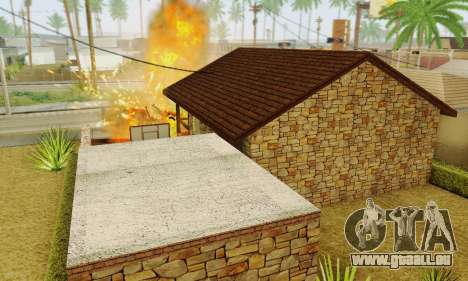 Nouvelle maison de big Smoke pour GTA San Andreas huitième écran