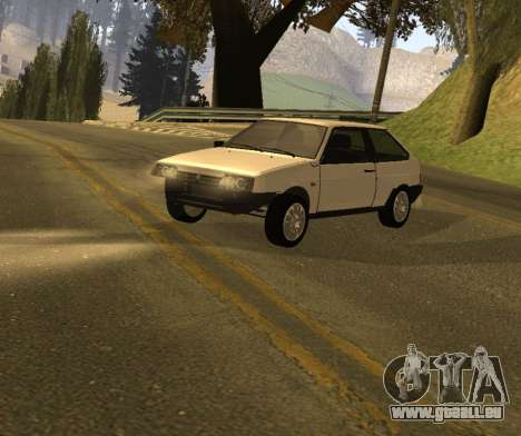 ВАЗ 2108 GVR Version 1.2 pour GTA San Andreas