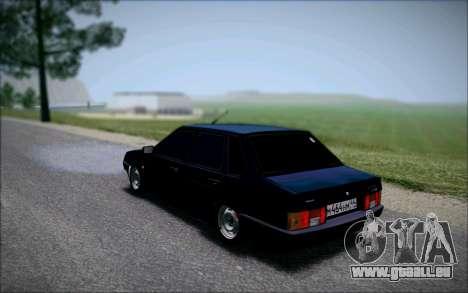 VAZ 21099 die Bandit für GTA San Andreas linke Ansicht