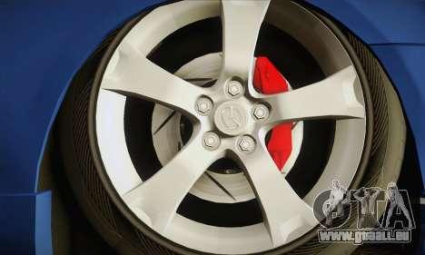 Mazda Axela Sport 2005 pour GTA San Andreas sur la vue arrière gauche