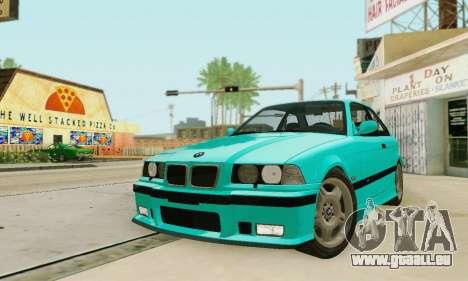 BMW E36 M3 1997 Stock für GTA San Andreas Seitenansicht