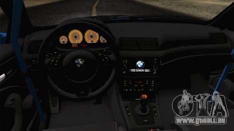 BMW M3 E46 GTR 2005 für GTA San Andreas rechten Ansicht
