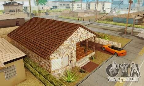 Nouvelle maison de big Smoke pour GTA San Andreas troisième écran