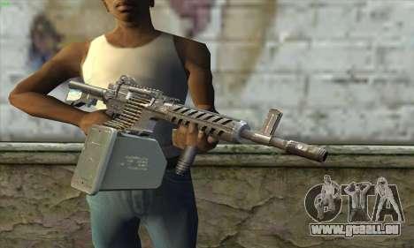 M4 Gunner pour GTA San Andreas troisième écran