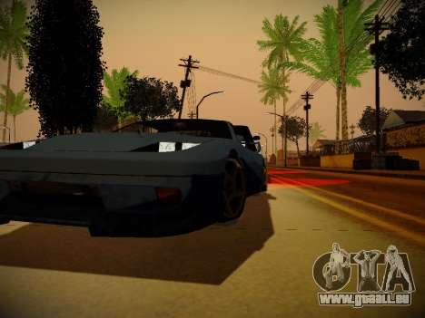 ENBSeries pour la faiblesse du PC par Makar_SmW8 pour GTA San Andreas quatrième écran