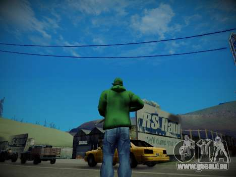 Journey mod: Special Edition pour GTA San Andreas