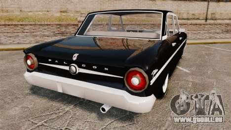 Ford Falcon 1963 für GTA 4 hinten links Ansicht