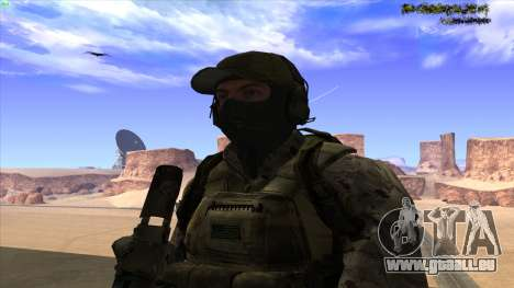 U.S. Navy Seal für GTA San Andreas fünften Screenshot