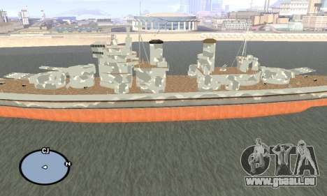 HMS Prince of Wales für GTA San Andreas zweiten Screenshot