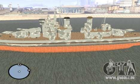 HMS Prince of Wales pour GTA San Andreas deuxième écran