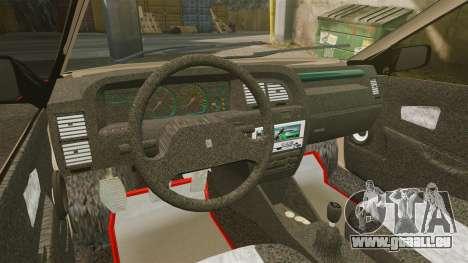 Citroen Xantia pour GTA 4 Vue arrière
